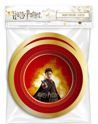 Набор бумажных тарелок ND Play Harry Potter 180 мм 6 штук