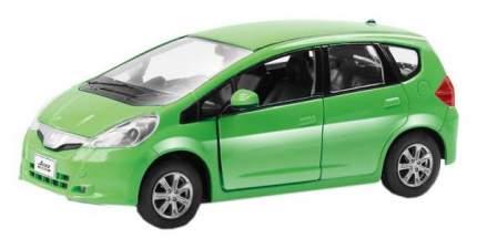 Машина металлическая RMZ City 1:32 Honda Jazz, инерционная, зеленая, 12,7 x 4,9 x 4,1см