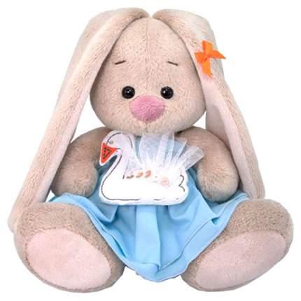 Мягкая игрушка BUDI BASA Зайка Ми с лебедем, 15 см