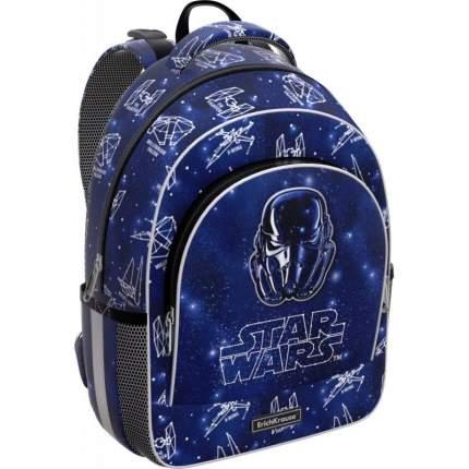 Рюкзак детский ErichKrause ErgoLine 15L Звездные войны для мальчиков Синий 47391