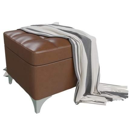 Банкетка 6-5113 Жозефина-2, коричневый, 46х46х45 см