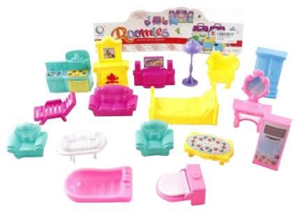 Набор мебели для кукол Roomies - Квартира, 17 предметов Shantou