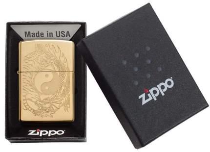 Бензиновая зажигалка Zippo Classic High Polish Brass