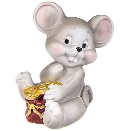 н.г.символ года мышка  фигурка 5,3*4,5*6,3см