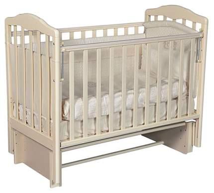 Кровать детская Антел Алита 3/5 а/с слоновая кость