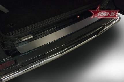 Накладка на наружные порог багажника без логотипа UAZ Patriot 2013-2019
