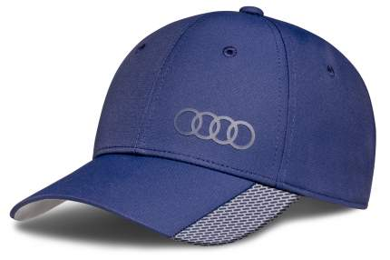Бейсболка Унисекс Премиум,Синяя, Audi Quattro VAG арт. 3131701700