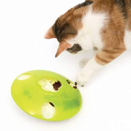 Игрушка для собак Hagen Catit Treat Spinner, силикон, зеленый, 18,5x18,5x8 см