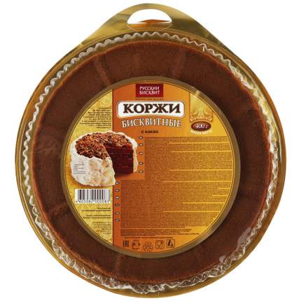 Коржи для торта Русский Бисквит бисквитные темные 400 г