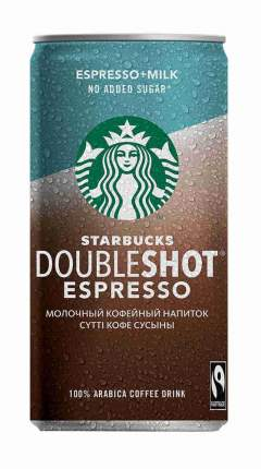 Напиток Starbucks Doubleshot Espresso 200мл