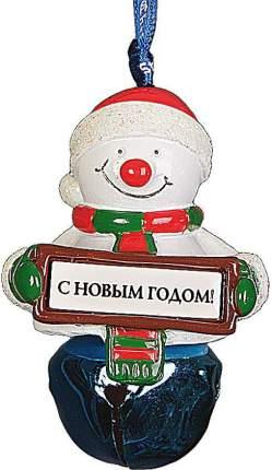 """Колокольчик Mister Christmas """"Снеговик"""""""