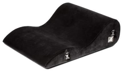Подушка для любви Liberator BL Retail Hipster большая, черная микрофибра 13519101