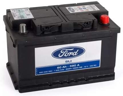 Аккумулятор FORD 60R 590A 242x175x175 2247685