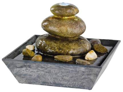 Садовый фонтан Kaemingk Сад камней 894229 с подсветкой