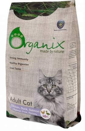 Сухой корм Organix для кошек (1,5 кг, Курица, утка и лосось)