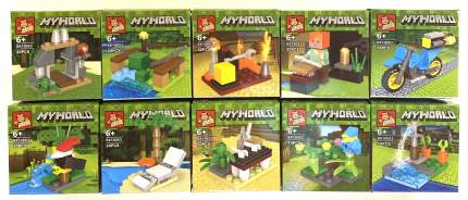 Набор конструкторов Minecraft CoolToys Кемпинг 200 деталей