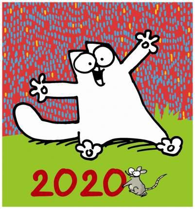 """Настольный календарь """"Знаменитый Кот Саймона"""" 2020"""