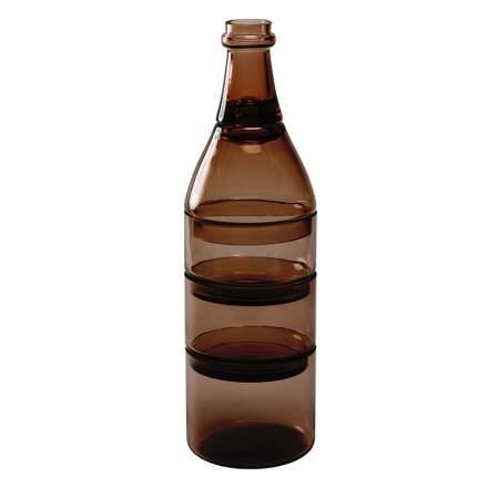 Набор из 5-ти ёмкостей для аперитива L'apéro коричневый