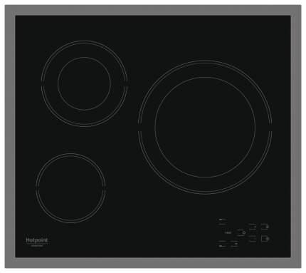 Встраиваемая варочная панель электрическая Hotpoint-Ariston HR 603 X Black