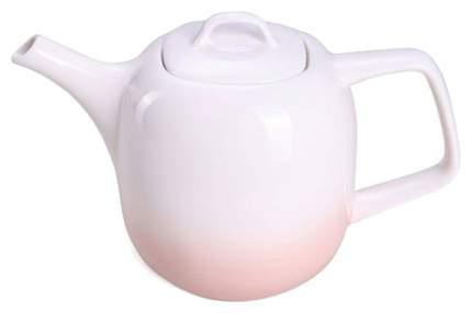 Заварочный чайник Fissman 9285 Белый, розовый