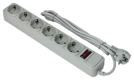 Сетевой фильтр Exegate SP-6-1.8 Серый