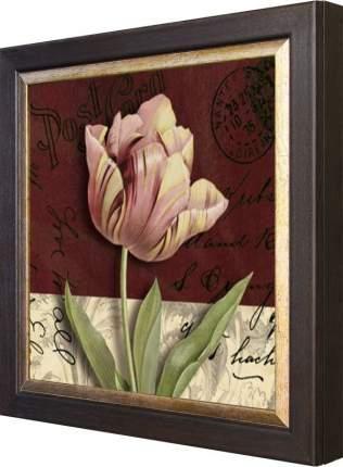 "Ключница ""Kelly Donovan - Postcard Tulip"" Венге"