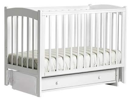 Кровать детская Лель Кубаночка-3 Би 39 маятник универсальный, Белый