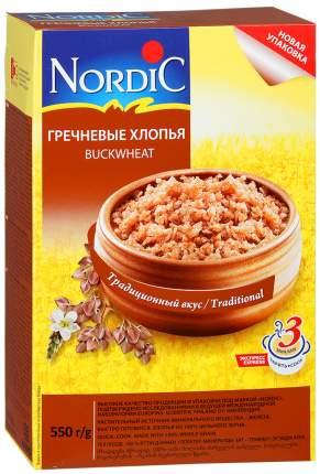 Хлопья Nordic гречневые 550 г