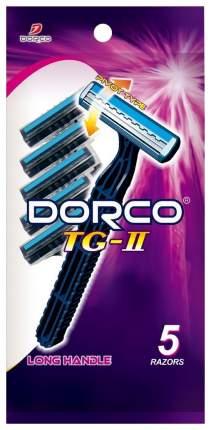 Станок для бритья Dorco TG-II Long Handle 5 Disposable Razors