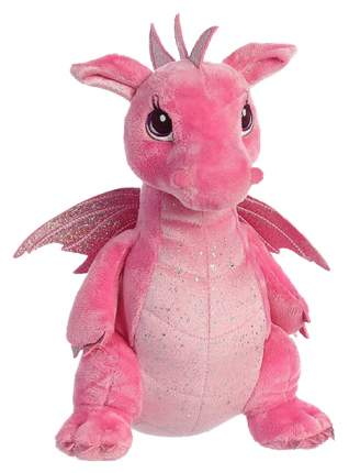 Мягкая игрушка Aurora Cuddly Friends Дракон розовый 30 см 170415A