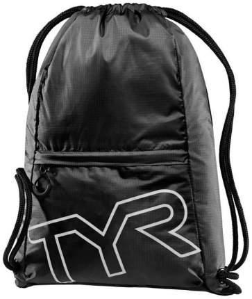 Рюкзак TYR Drawstring Backpack, 13 л, 001 black