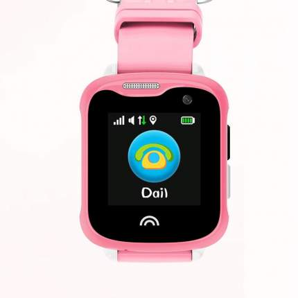 Детские смарт-часы Smart Baby Watch D7 Pink