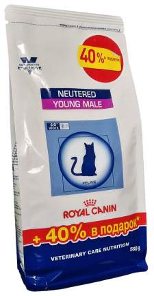 Сухой корм для кошек ROYAL CANIN Neutered Young Female,для стерилизованных до 7 лет,0,56кг