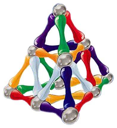 Магнитный конструктор WITKA 24 палочек и 12 шариков 00333F