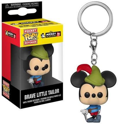 Брелок Mickey: The True Original (90 Years) - Pocket POP! - Brave Little Tailor (4 см)
