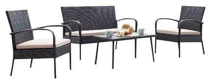 Набор дачной мебели Экодизайн ECO_210273