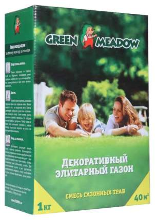 Семена Газон ПРЕМИУМ Декоративный элитарный, 1 кг Зеленый ковер