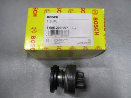 Бендикс стартера Bosch 1006209997