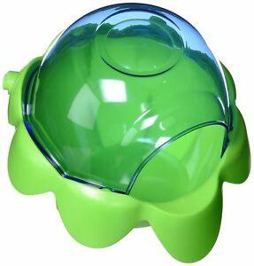 Купалка для шиншилл Hagen пластик, 16 х 26,5 х 26 см, цвет зеленый