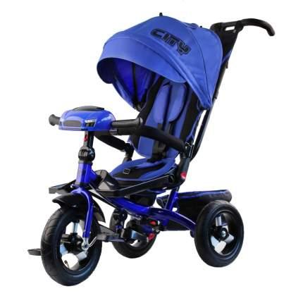 Велосипед CITY H5HB с музыкальной фарой синий