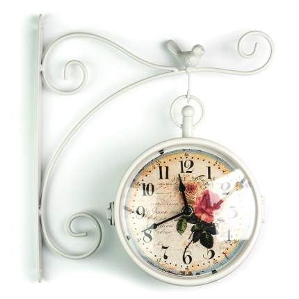 ML-5686 Часы настенные метал. двухсторонние  (32х8,5x30 см.)