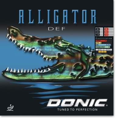 Накладка для ракетки Donic Alligator DEF черная OX