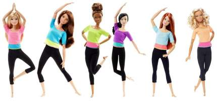 Кукла Barbie из серии Безграничные движения 29 см