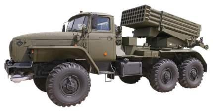 Сборная модель ZVEZDA БМ-21 Град 1/35 3655