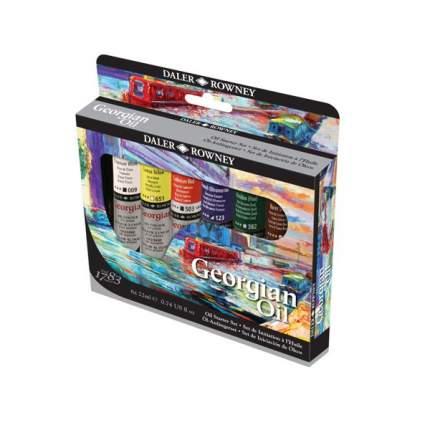 Масляные краски Daler Rowney Starter Georgian 6 цветов
