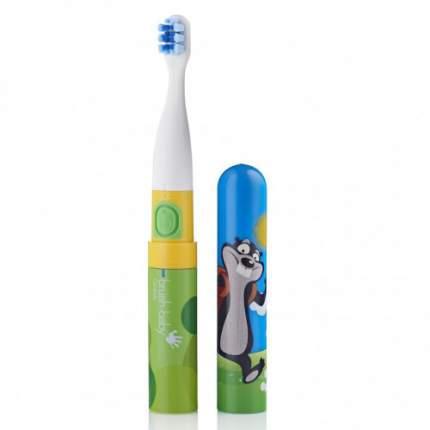 Детская электрическая зубная щетка Brush-baby Go-Kidz от 3-х лет