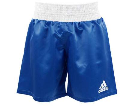 Шорты боксерские Adidas Multi Boxing Shorts синие 2XS