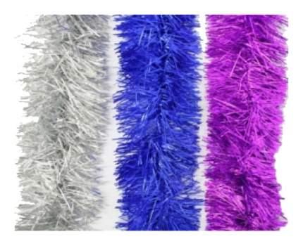 Мишура Snowmen Е50153 Серебристый, синий, фиолетовый