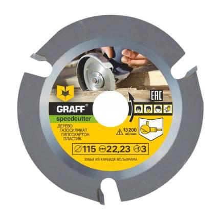 Пильный диск Graff speedcutter115