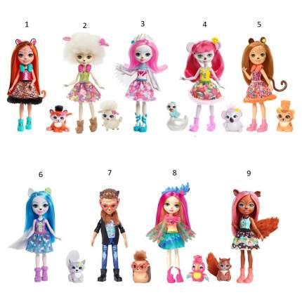 Кукла Enchantimals с Питомцем Fnh22 Mattel в ассортименте